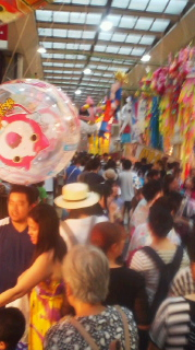 七夕祭り最終日